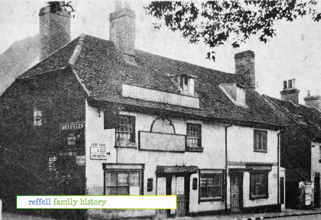 Anglesea Arms Before Rebuilding1930