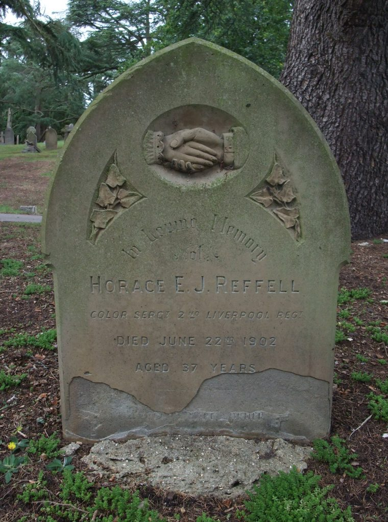 Grave of Horace Edwin Reffell